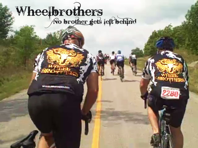 The Wheelbrothers on one of their many Texas bike rides!
