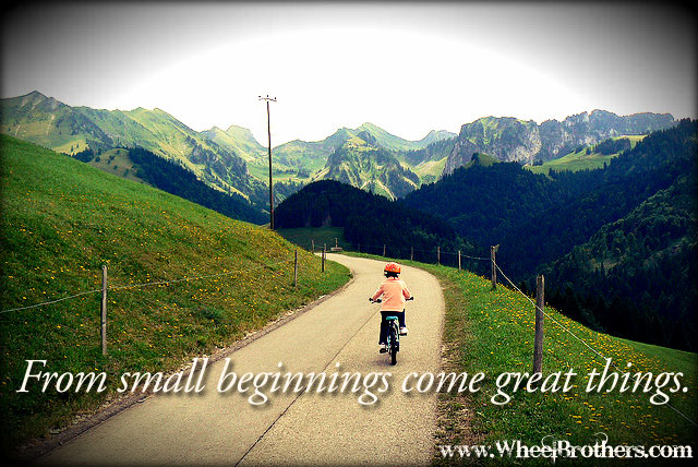 from small beginnings come great things essay writer