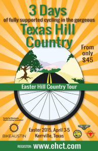 2015 Easter Hill Country Tour