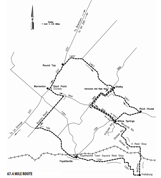 map of Tri-County Hill Hopper