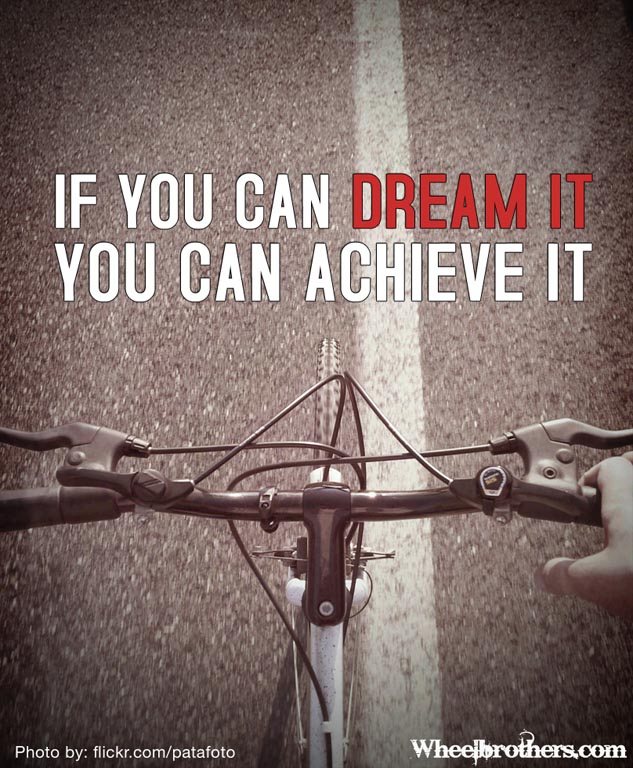 """you can dream it you can achieve it 2017-04-19 """"the essence of america – that which really unites us – is not ethnicity, or nationality, or religion – it is an idea – and what an idea it is: that you can come from humble circumstances and do great."""