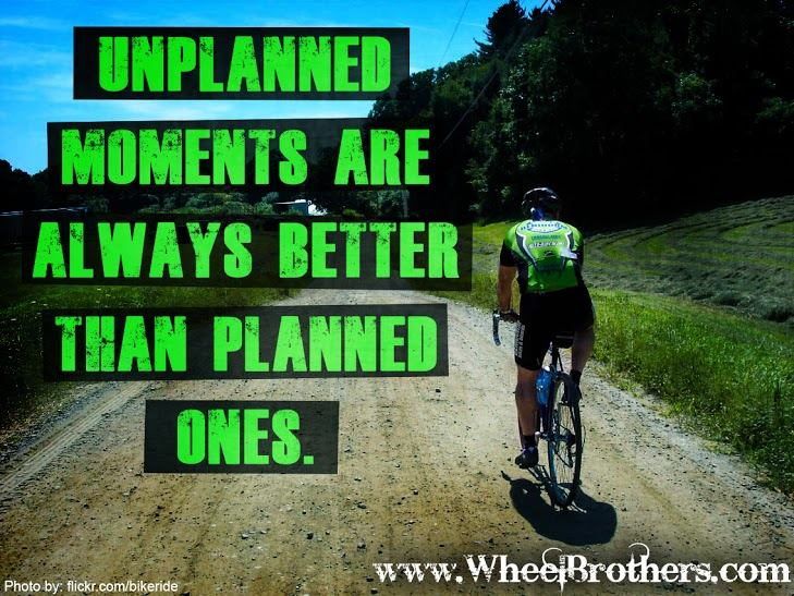 Unplanned moments are always better than planned ones