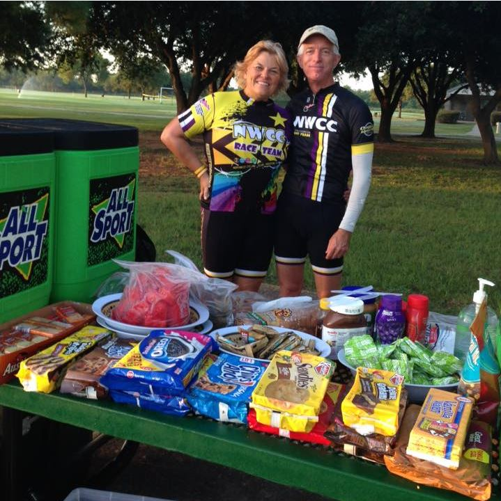 Nancy Kotinek Chiczewski and Trey Walker know what weary cyclists want in the way of post-ride goodies.