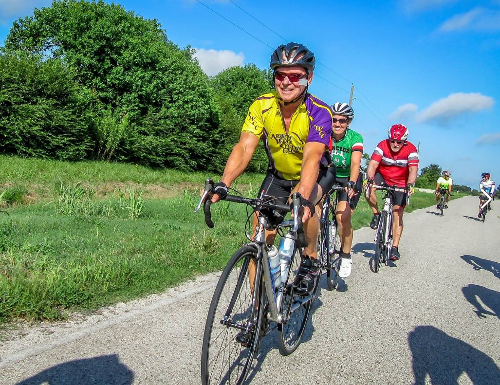 Blue skies and cycling fun. What's not to like about Hump Day?(photo by Rich Faulkner)