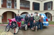 Wheel Love: Fort Worth Cyclists Bring Joy to Local Residents this Holiday Season