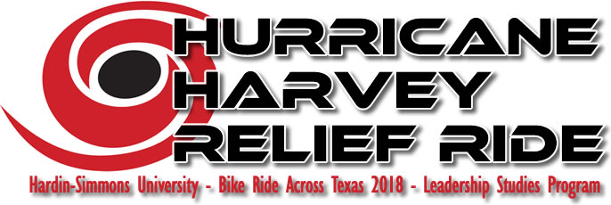 Bike Ride Across Texas 2018 Hardin-Simmons University – Leadership Studies Program Hurricane Harvey Relief Ride
