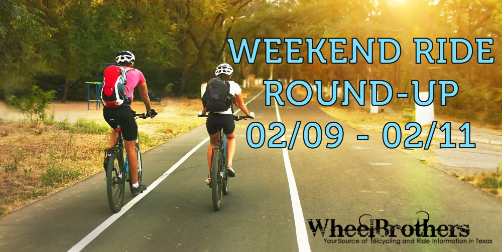 Weekend Ride Round Up - 02-09 - 02-11