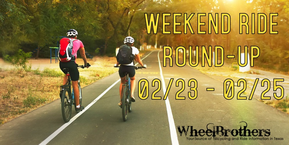 Weekend Ride Round-Up - 02/23 - 02/25