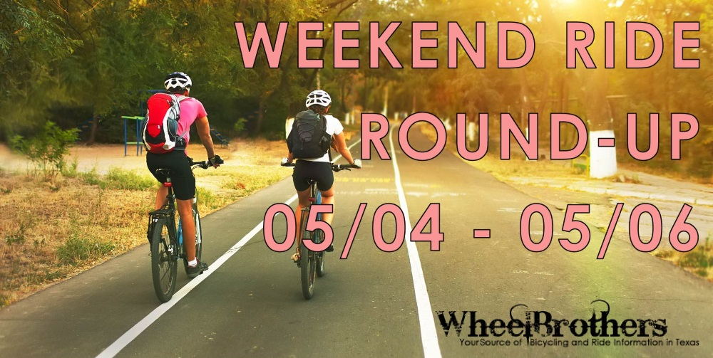 Weekend Ride Round-Up - 04/27 - 04/29