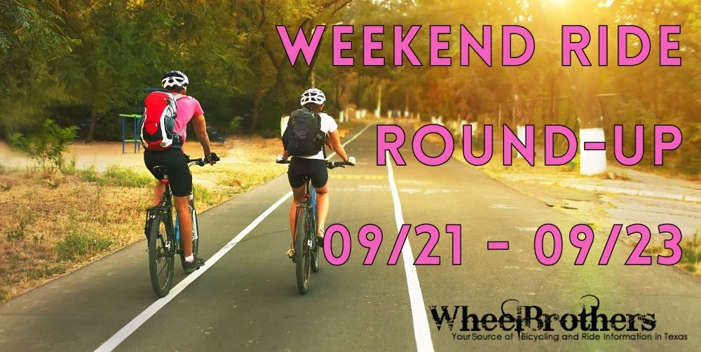 Weekend Ride Round-Up - 09/21 - 09/23