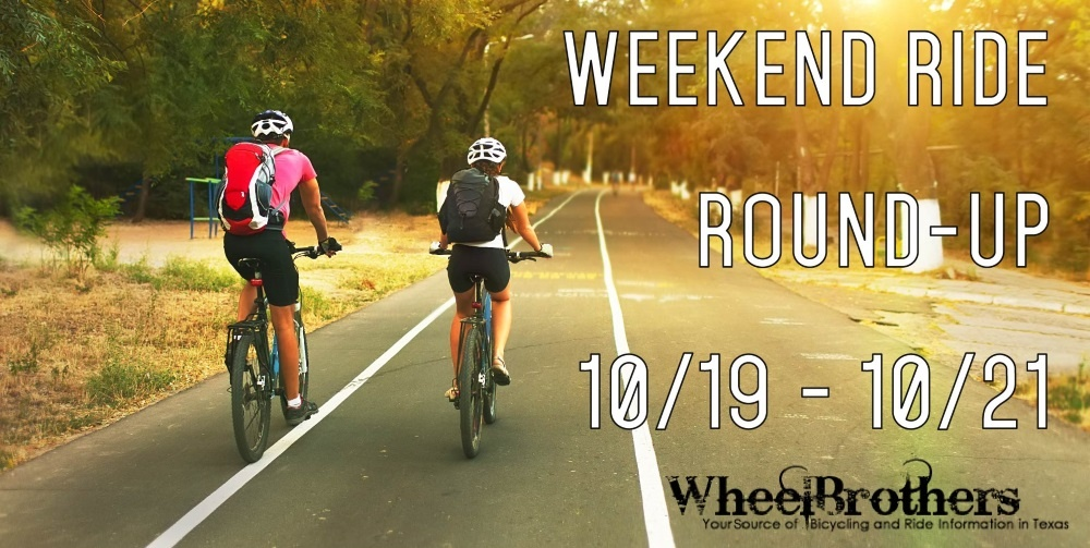 Weekend Ride Round-Up - 10/26 - 10/28