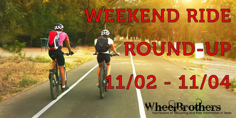 Weekend Ride Round-Up - 11/02 - 11/04