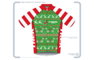 Ugly Christmas Sweater Cycling Jersey Giveaway!