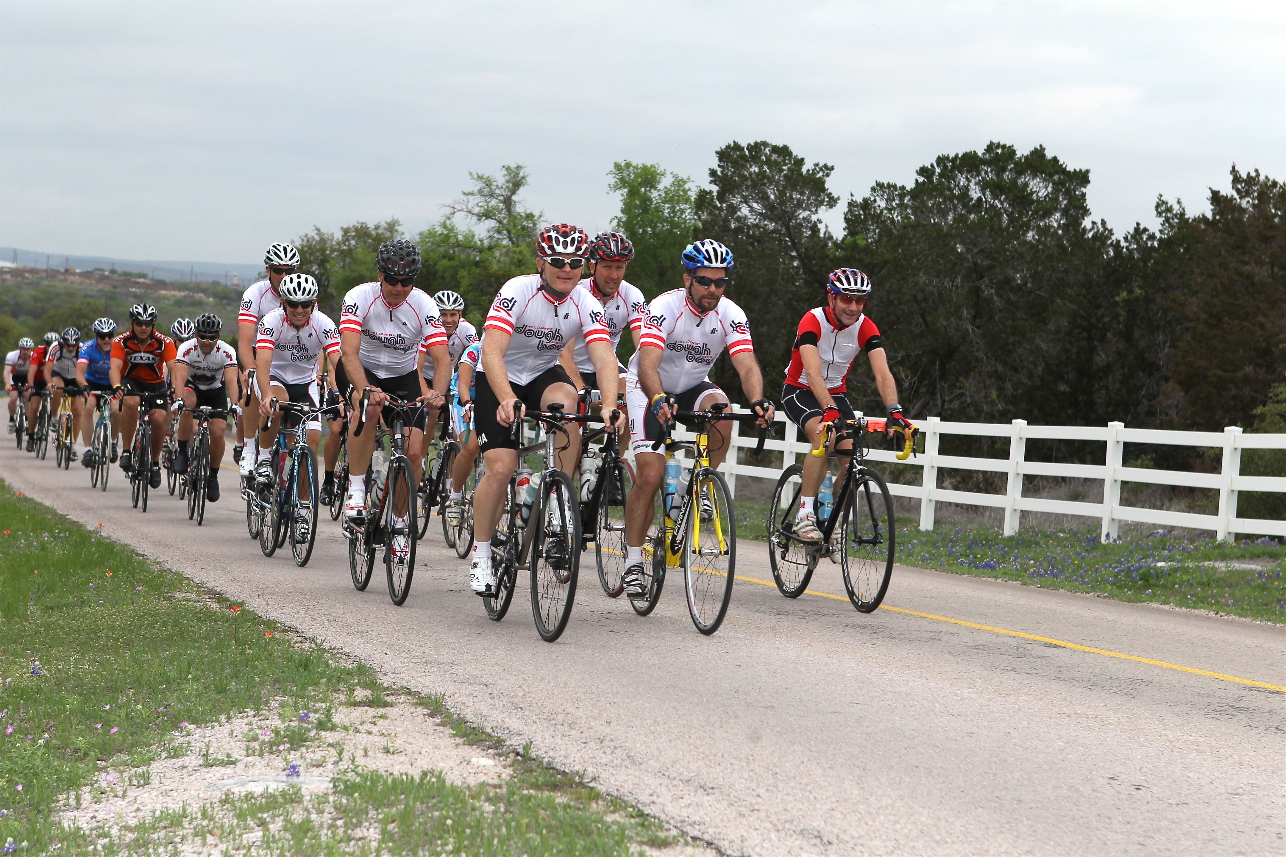Interview- RAAM Cycling Challenge - Marble Falls, TX