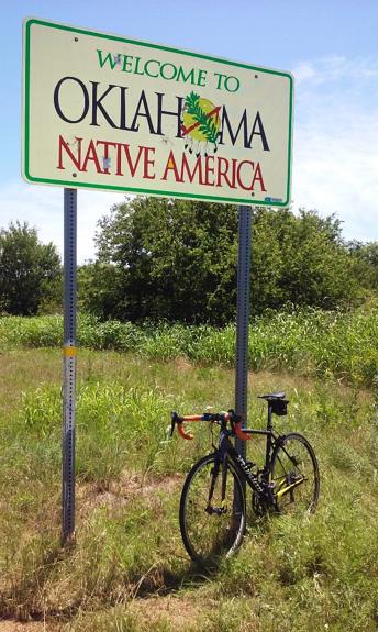 Oklahoma border
