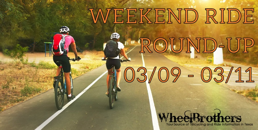 Weekend ride round-up 03/09-03/11
