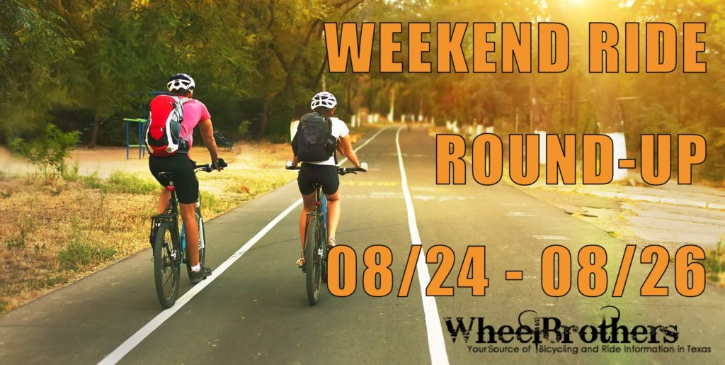 Weekend Ride Round-Up - 08/24 - 08/26