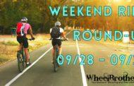 Weekend Ride Round-Up - 09/28 - 09/30