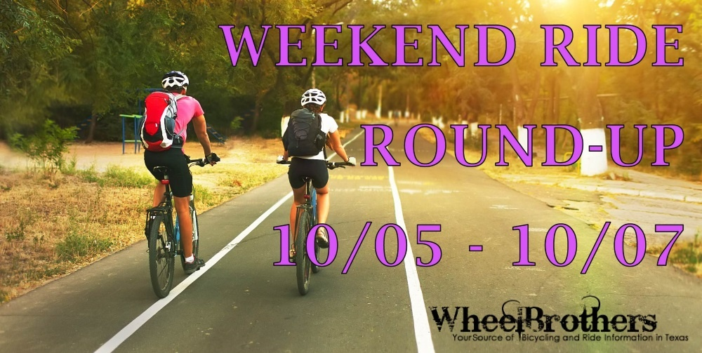 Weekend Ride Round-Up - 10/05 - 10/07