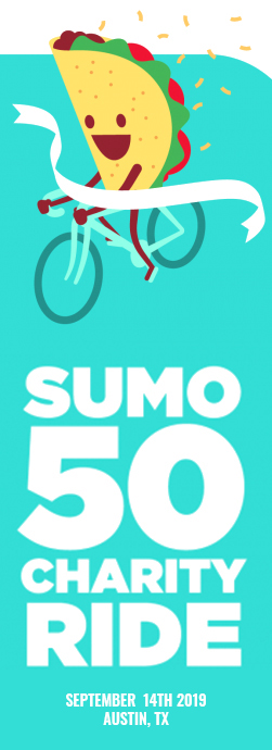 Sumo 50 Charity Ride
